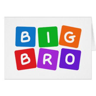Big Bro custom blank cards