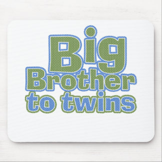 Big Bro - Twins Mouse Pad