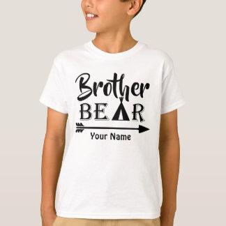 Big Brother Arrow Bear Personalised T-Shirt