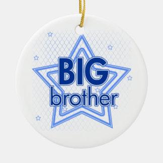 Big brother blue stars ornament