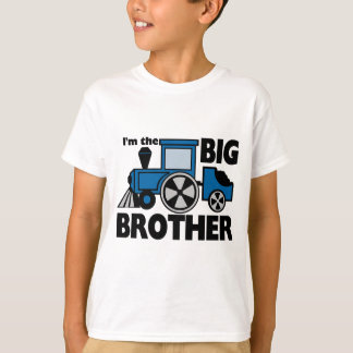 Big Brother Blue Train T-Shirt