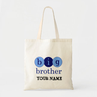 Big Brother - Circles Budget Tote Bag