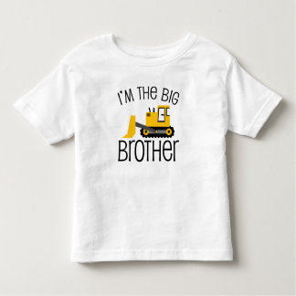 Big Brother Construction Front Loader Toddler T-Shirt