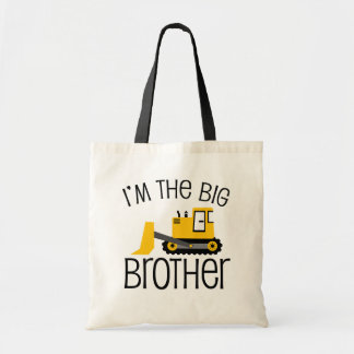 Big Brother Construction Front Loader Tote Bag
