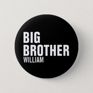 Big Brother Custom Round Button