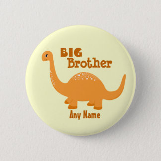 Big Brother Dinosaur Print Button