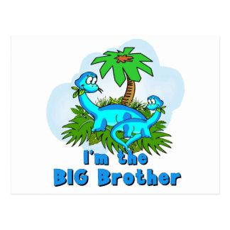Big Brother Dinosaurs Postcard