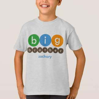 Big Brother Dots Personalized T-Shirt