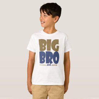 Big Brother Established Custom Year T-Shirt