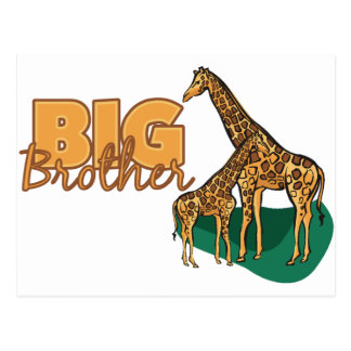Big Brother (Giraffe) Postcard