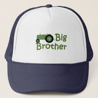 Big Brother Green Tractor Trucker Hat