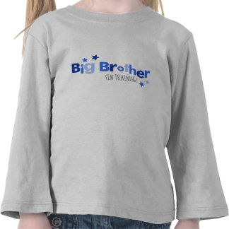 Big Brother in Training Tee Shirts