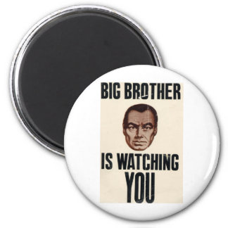 Big Brother Is Watching You Fridge Magnets