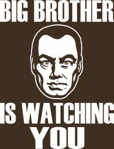 Big Brother Is Watching You T Shirts Shirt Designs Zazzlecomau