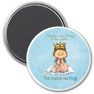 Big Brother - King of Prince 7.5 Cm Round Magnet