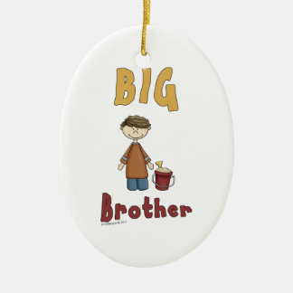 Big Brother Little Boy 9 Ceramic Ornament