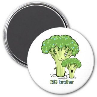 Big Brother - little sibling 7.5 Cm Round Magnet