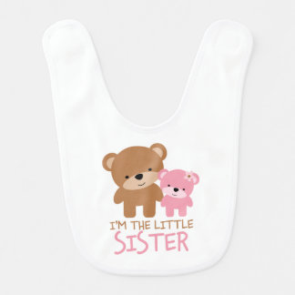 Big Brother Little Sister Bears Bib
