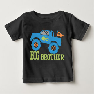 Big Brother Monster Truck Baby T-Shirt