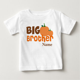 Big Brother Pumpkin Personalised Shirt