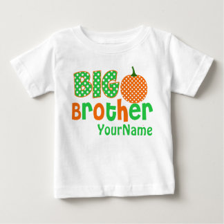 Big Brother Pumpkin Personalized Shirt