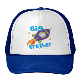 Big Brother Rocket Ship Sibling Sets Cap