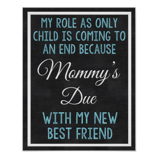Big Brother Sign, Pregnancy Sign, New Baby, Baby Poster