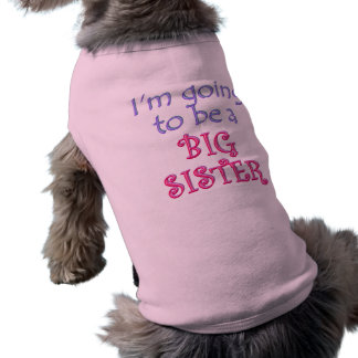 Big Brother/Sister Sleeveless Dog Shirt