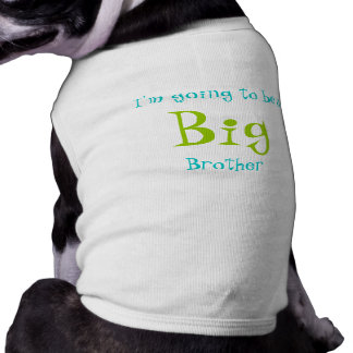 Big Brother Sleeveless Dog Shirt