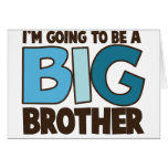 big brother t-shirt greeting card