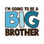 big brother t-shirt post card