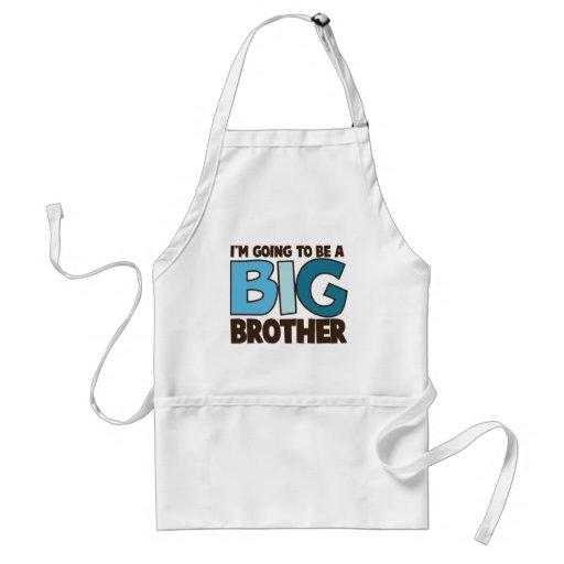 big brother t-shirt standard apron