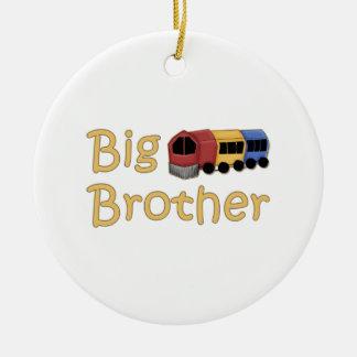 Big Brother Train Round Ceramic Decoration