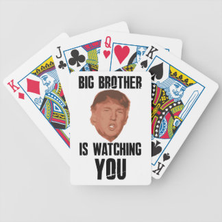 Big Brother Trump Bicycle Playing Cards