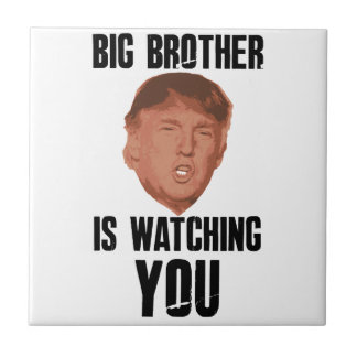 Big Brother Trump Tile
