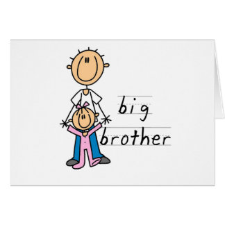 Big Brother with Baby Sister Tshirts and Gifts Card