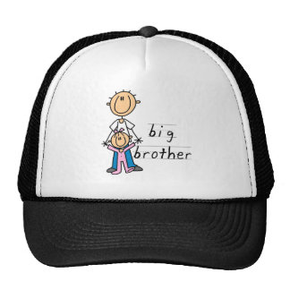 Big Brother with Baby Sister Tshirts and Gifts Trucker Hats