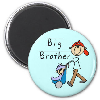 Big Brother with Little Brother Tshirts and Gifts Magnets