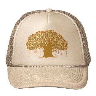 Big Brown Banyan Tree Cap
