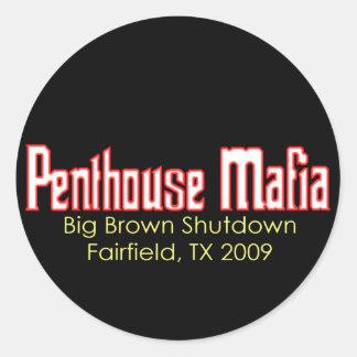 Big Brown Outage Sticker