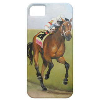 Big Brown Rsce Horse Oil Painting iPhone 5 Case
