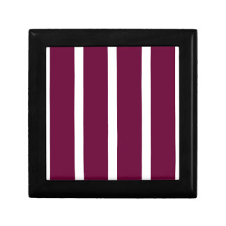 Big Brown Stripe Gift Box
