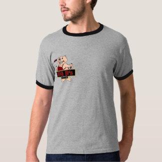 Big B's BBQ logo - Men's Ringer T T-Shirt
