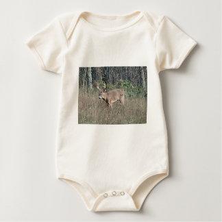 Big buck by james potvin baby bodysuit