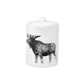 big bull moose art