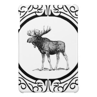 big bull moose art iPad mini cover