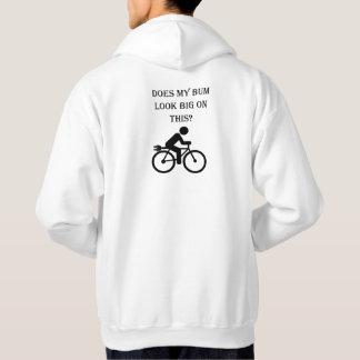 """""""Big bum"""" cycling hoodies for men"""