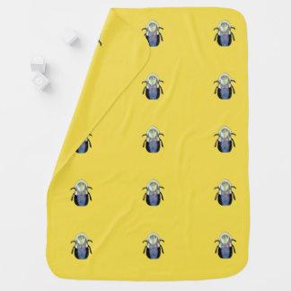 Big Bumble Bee Baby Blanket