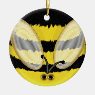 Big Bumble Bee Ceramic Ornament