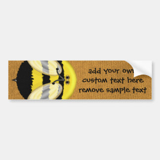 Big Bumble Bee Custom Bumper Sticker